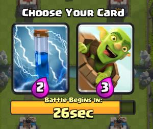 Clash Royale Draft Challenge Zap Goblin Barrel