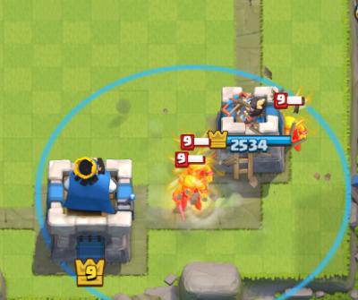 Clash Royale Tornado Goblin Barrel