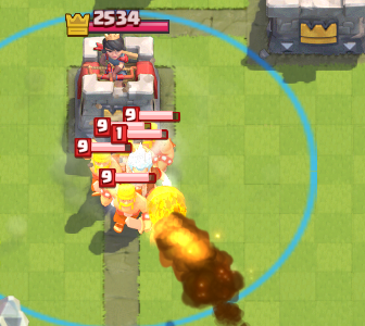 Clash Royale Tornado Fireball Combo