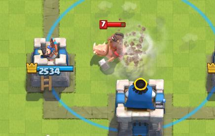 Clash Royale Tornado Pull Hog