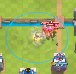 Clash Royale Tornado Three Musketeers