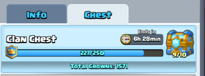 Clash Royale Clan Chest