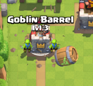 Clash Royale Zap Bait Deck Mirrored Goblin Barrels