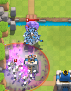 Clash Royale Zap Bait Deck Skeleton Army Minion Horde