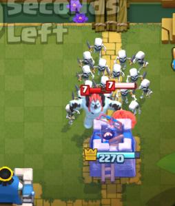 Clash Royale Zap Bait Deck Skeleton Army