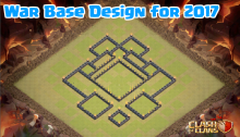 Clash of Clans TH7 TH8 TH9 TH10 War Base Layouts 2017