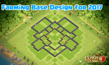 Clash of Clans TH7 to TH10 Farming Base Designs 2017