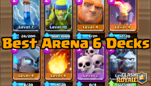 Clash Royale Best Arena 6 Builders Workshop Decks