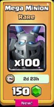 Clash Royale New Cards Store