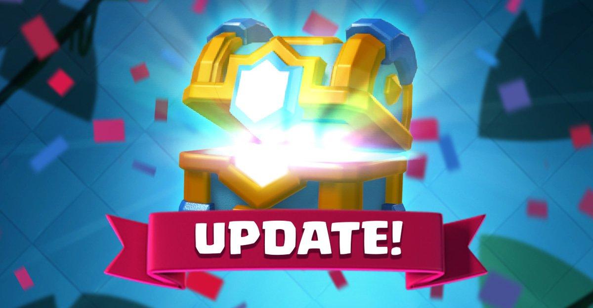 Clash royale update april 2019