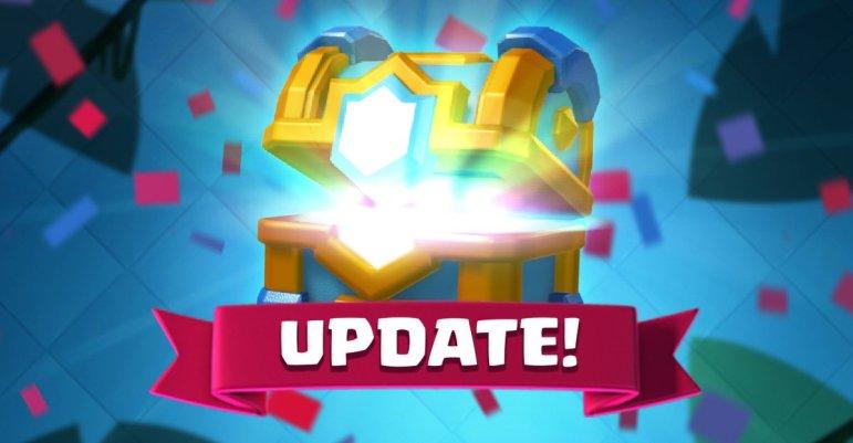 Clash Royale April 2018 Update Release Date