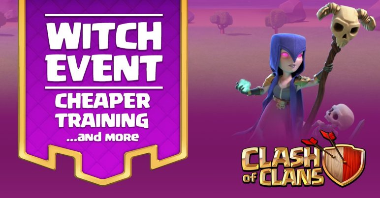 Clash of Clans Witch Event