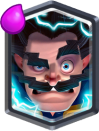 Clash Royale Electro Wizard Legendary Card