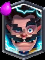 Clash Royale Electro Wizard Legendary Card