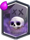 Clash Royale Graveyard Legendary Card