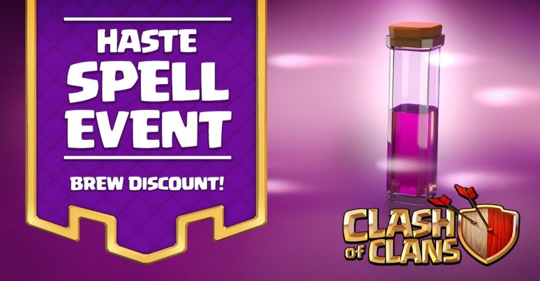Clash of Clans Haste Spell Event
