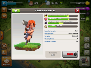 Clash of Clans TH8 Upgrade Order Valkyries