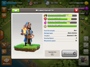 Clash of Clans TH8 Upgrade Order Wizard