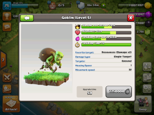 Clash of Clans TH8 Upgrade Order Goblins
