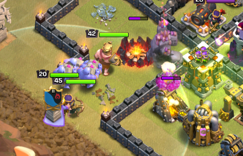 Clash of Clans TH11 LavaLoonion Clan Castle Kill