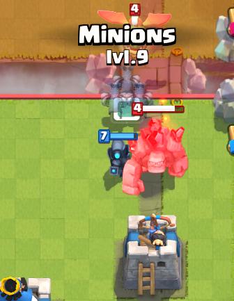 Clash Royale Giant Executioner Deck Golem Baby Dragon