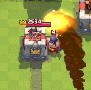 Clash Royale Executioner Counter Rocket