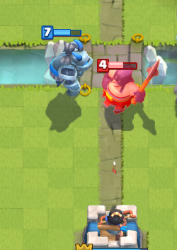 Clash Royale Executioner Counter Mega Minion