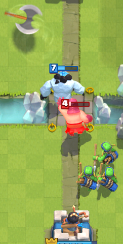 Clash Royale Executioner Counter Ice Golem Spear Goblins