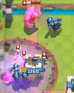 Clash Royale Hog Cycle Freeze Deck Bowler Graveyard