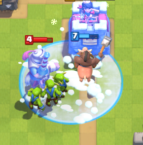Clash Royale Hog Cycle Freeze Deck Freeze