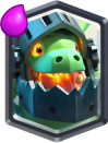 Clash Royale Inferno Dragon Legendary Card