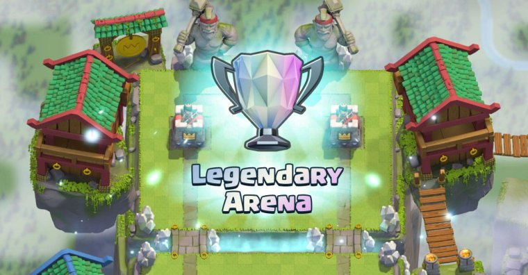 Clash Royale Legendary Arena