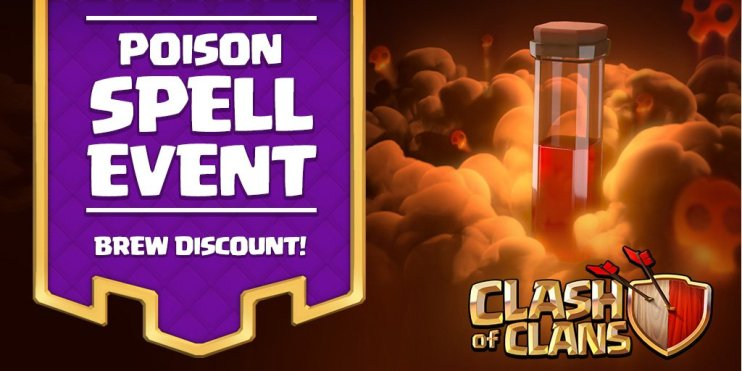 Clash of Clans Poison Spell Event