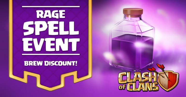 Clash of Clans Rage Spell Event