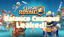 Clash Royale August 2018 Balance Changes Update LEAKED