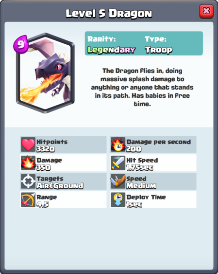 Clash Royale New Card Dragon