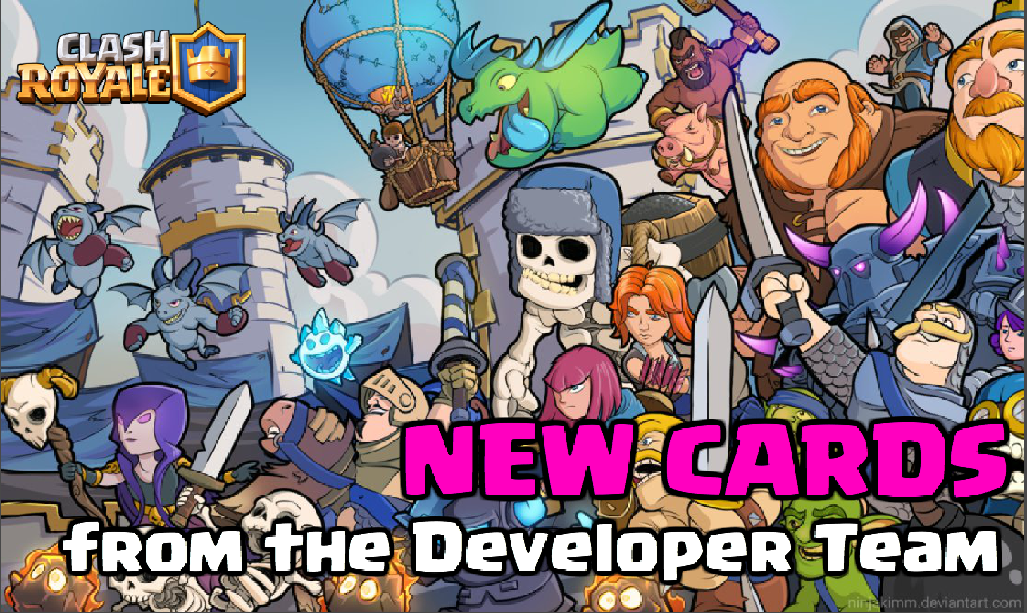 New Clash Royale Cards From Developer Team Clash For Dummies