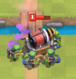 Goblin Gang Sparky Counter Clash Royale