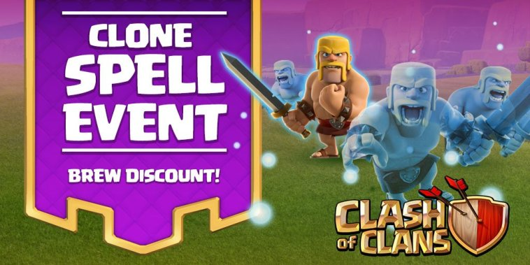 Clash of Clans Clone Spell Event