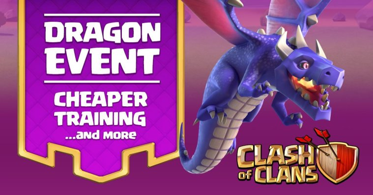 Clash of Clans Dragon Event
