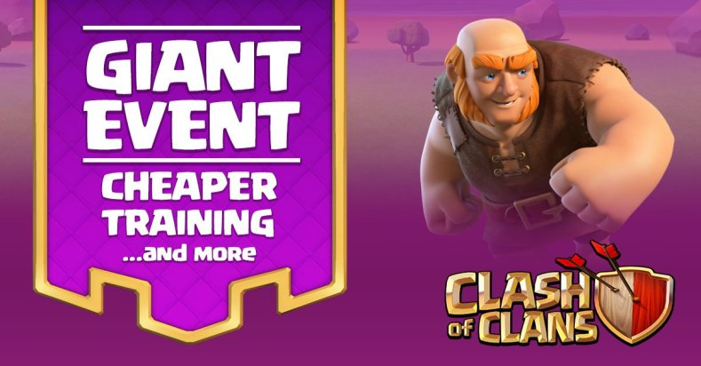 Clash of Clans Giant Event