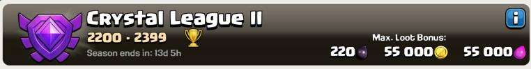 Clash of Clans League Loot Bonus
