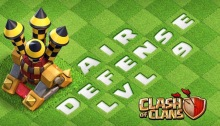 Clash of Clans March 2017 Balancing Update Air Defense Level 9
