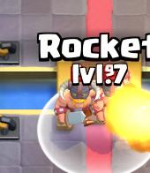 Rocket Countering Elite Barbarians Clash Royale