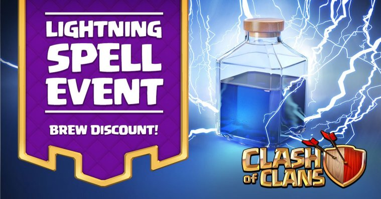 Clash of Clans Lightning Spell Event
