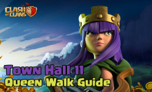 Clash of Clans Town Hall 11 Queen Healer Walk Strategy Guide