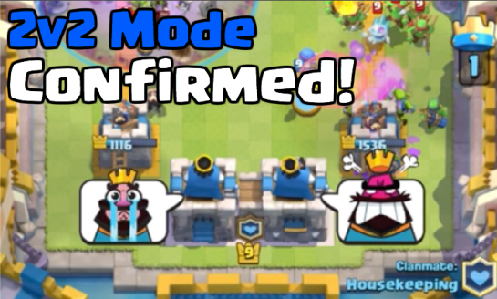 Clash Royale 2v2 Mode Clan Battles March 2017 Update