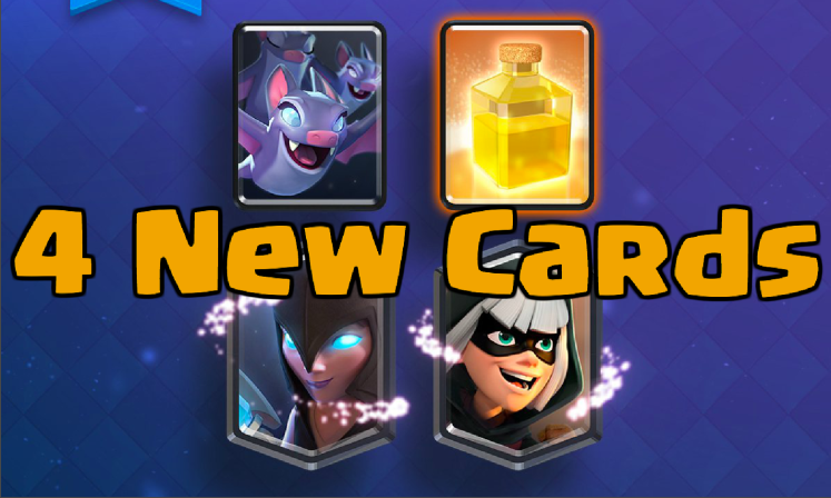 Clash Royale Bats Night Witch Heal Spell Bandit