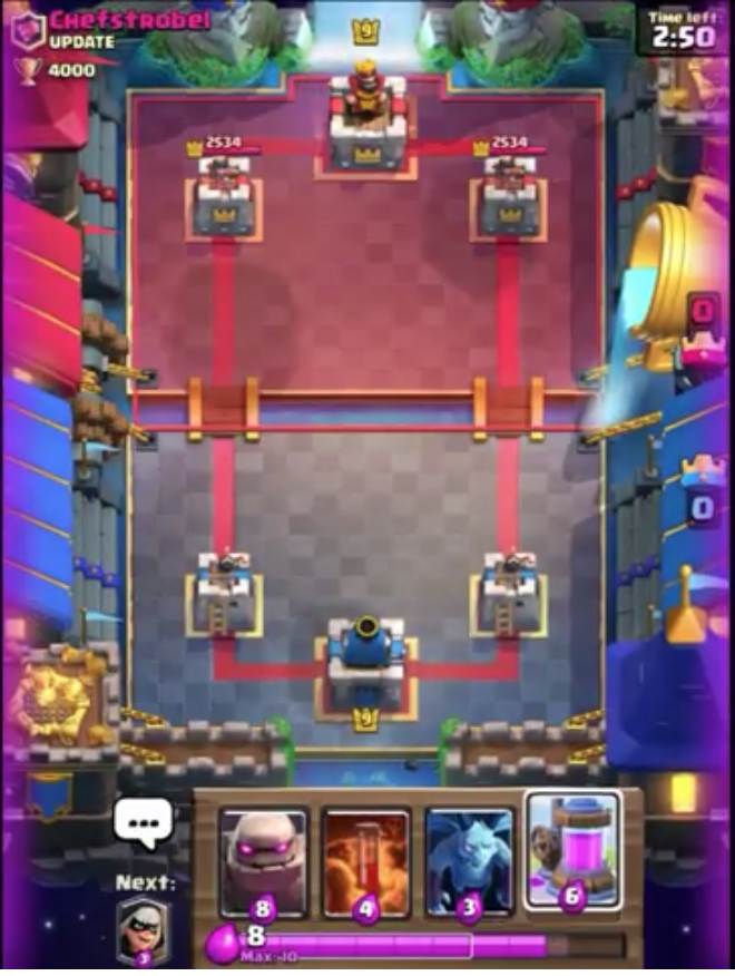 Arena 11/4000 Trophies Arena LEAKED for Clash Royale | Clash