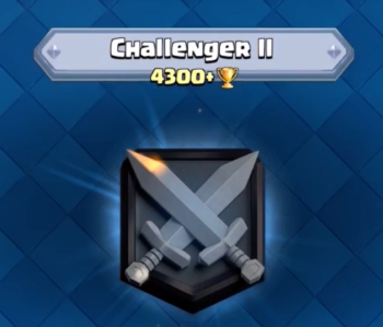 Clash Royale Challenger II 4300 Trophies